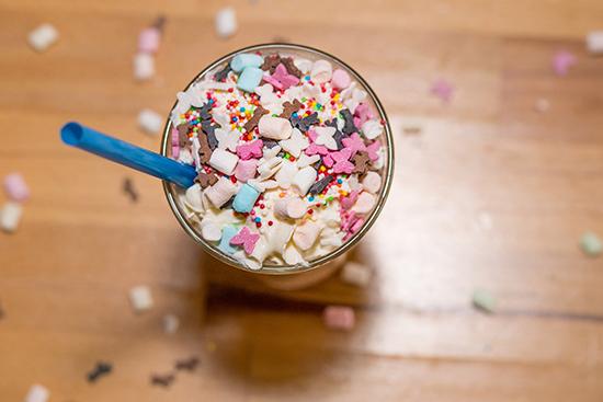 Einhorn Latte Rezept