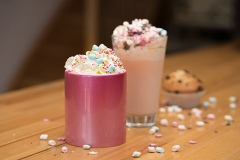 Einhorn Latte Zubereitung Rezept